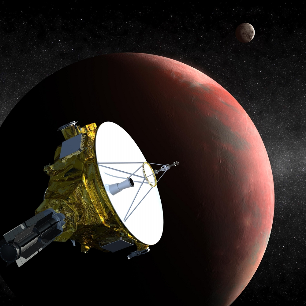 Image result for Pluto Rings