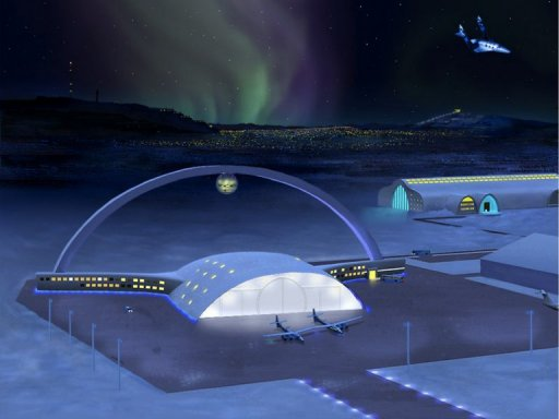 Arctic town eyes future as europe 39 s gateway to space for Outer space travel
