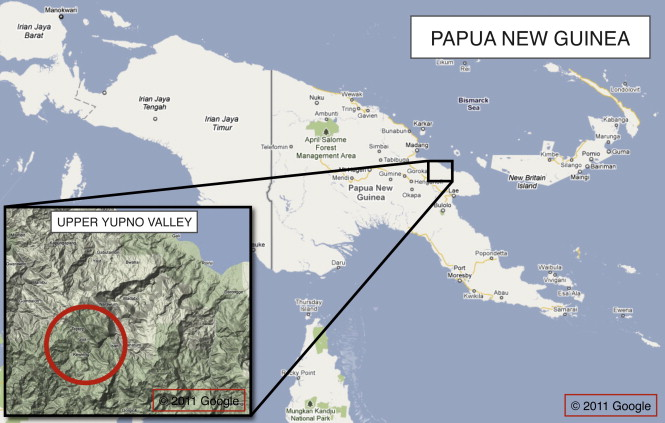 Time found to be fixed to terrain for Papua New Guinea tribe
