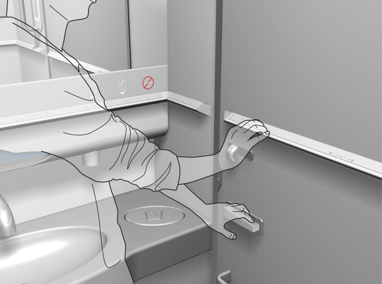 Braillewise Aircraft Toilet Making Air Travel Easier For Visually Impaired People