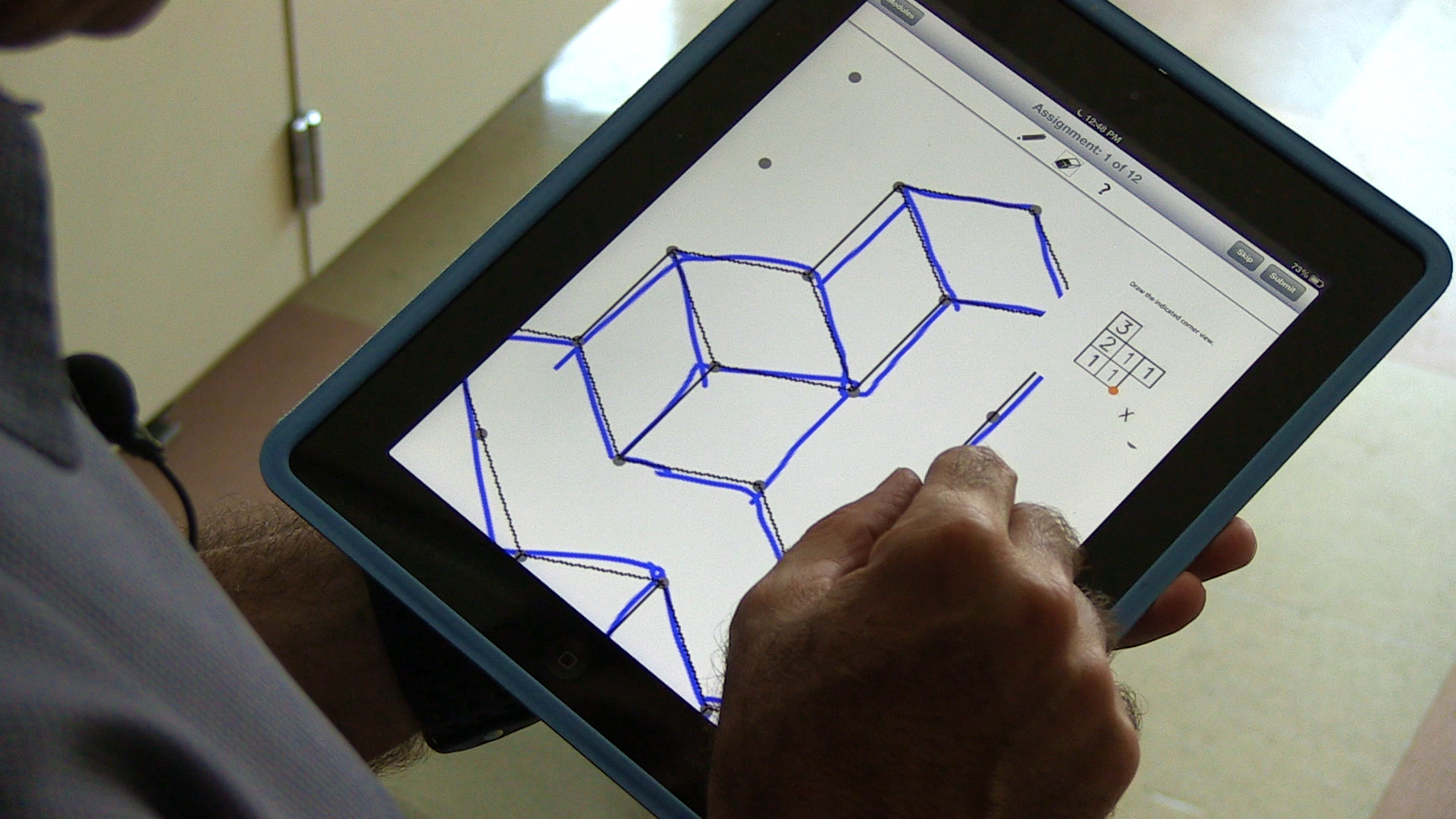 ipad app teaches students key skill for success in math