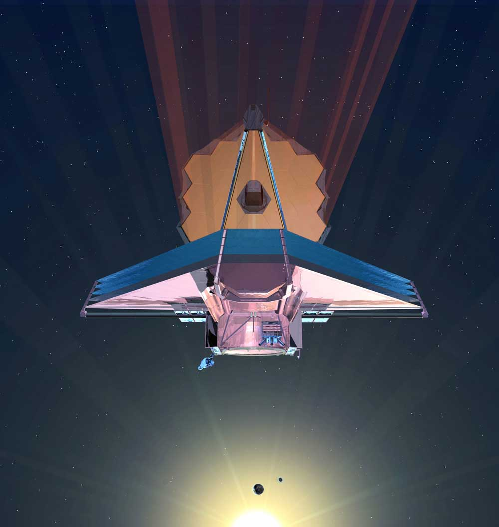 Scientists assemble new space telescope