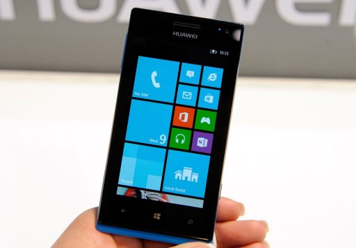 Huawei to launch first Windows 8 phone in US