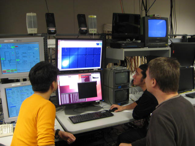 Subaru telescope control room