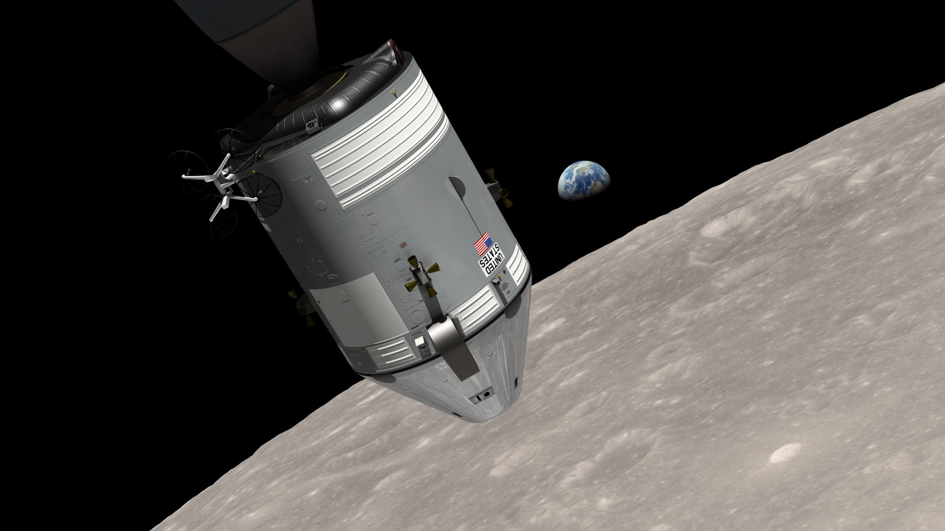 Nasa releases new earthrise simulation video for Nasa press release