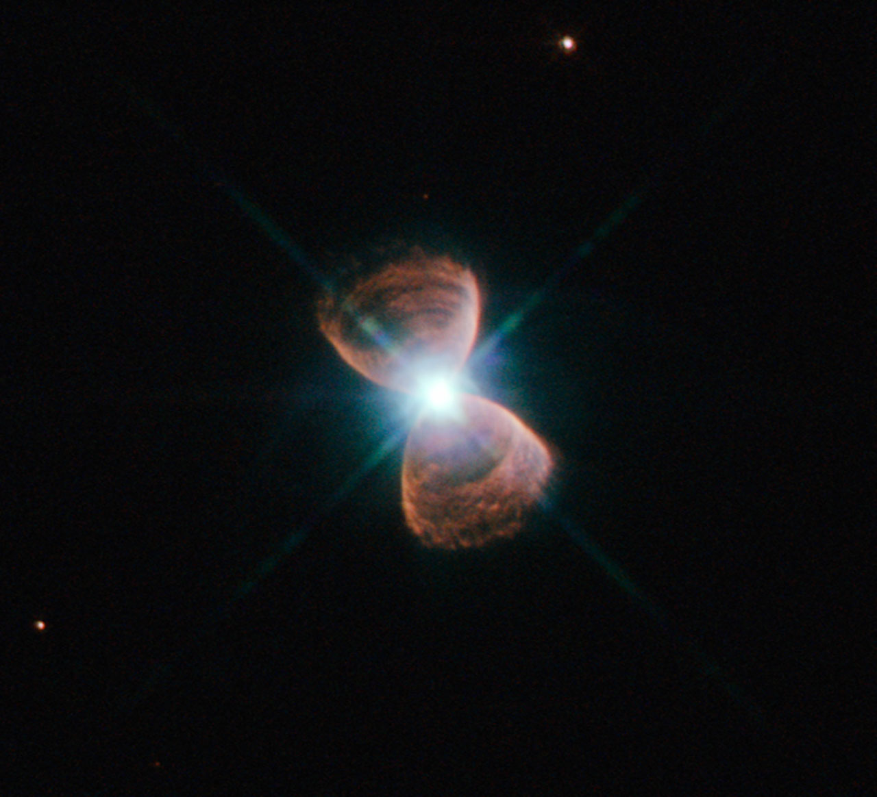 Bizarre alignment of planetary nebulae for Nebula material