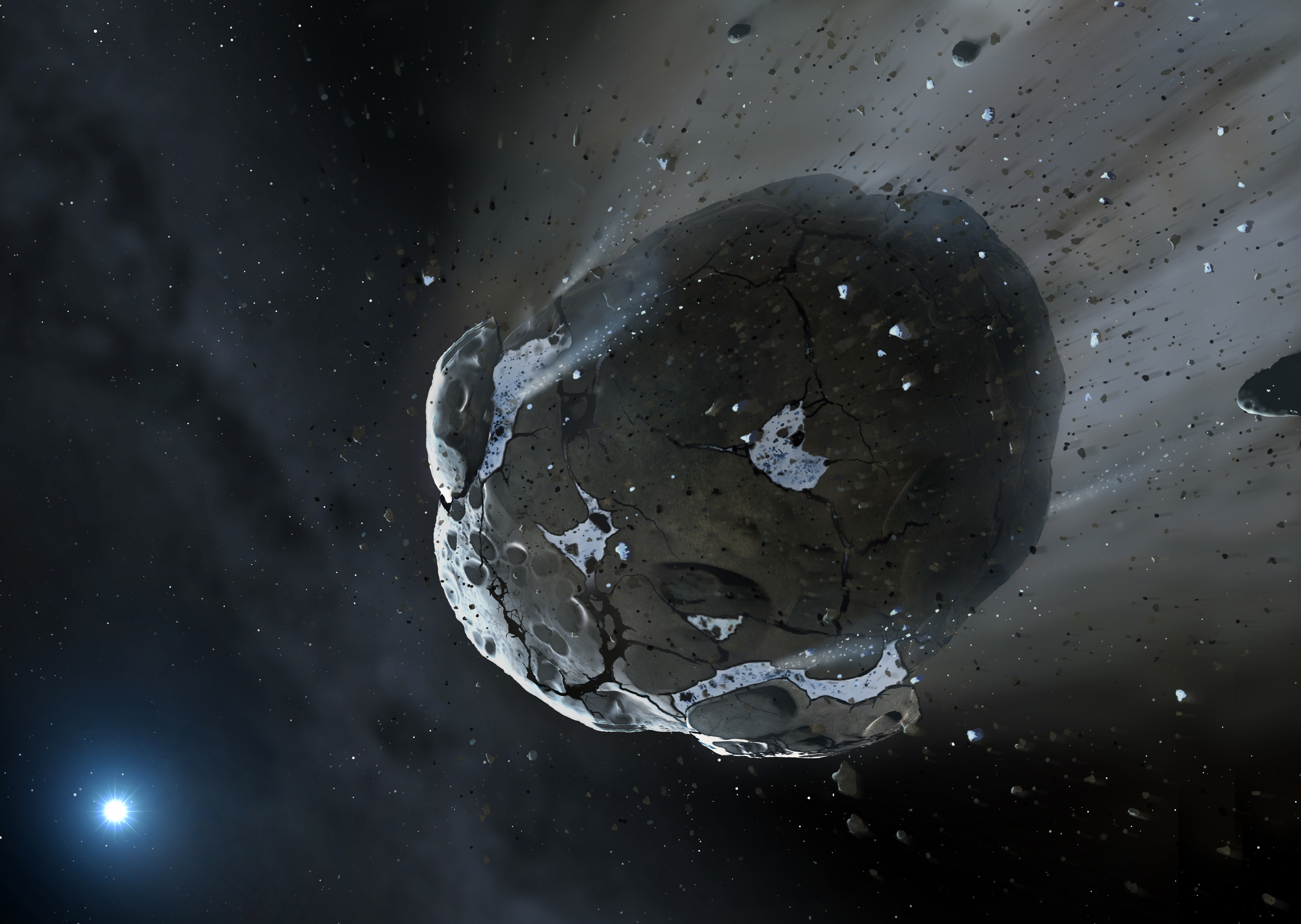 like how are planets asteroids - photo #1