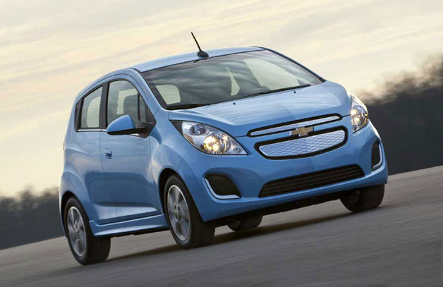 gm says chevy spark ev can go 82 miles per charge. Black Bedroom Furniture Sets. Home Design Ideas