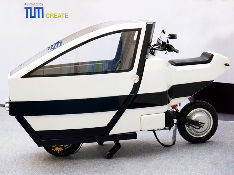 compact multipurpose scooter for crowded megacities. Black Bedroom Furniture Sets. Home Design Ideas