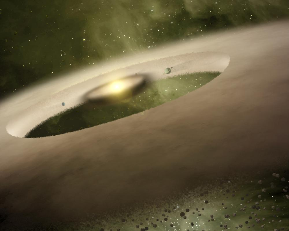 nebula solar plantesimals - photo #44