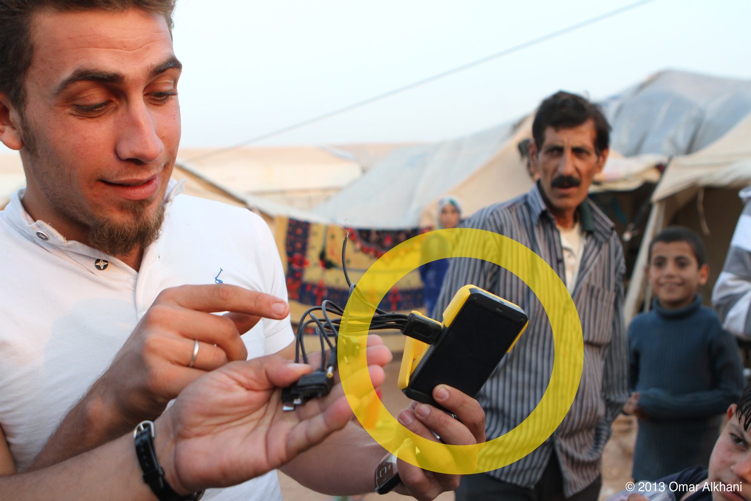 Solar Start Up Helps Power Refugee Camps In Syria