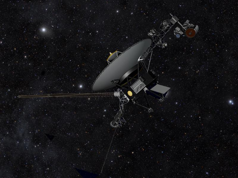 NASA Voyager statement about competing models to explain ...