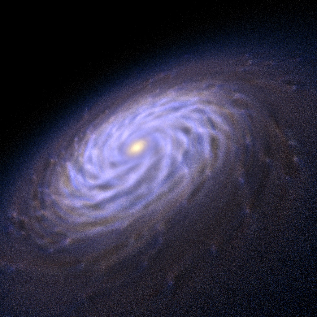 space galaxy formation - photo #40