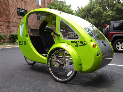 Bikes That Look Like Cars Not a car or bicycle