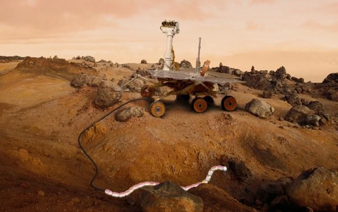 robot on mars nasa - photo #41