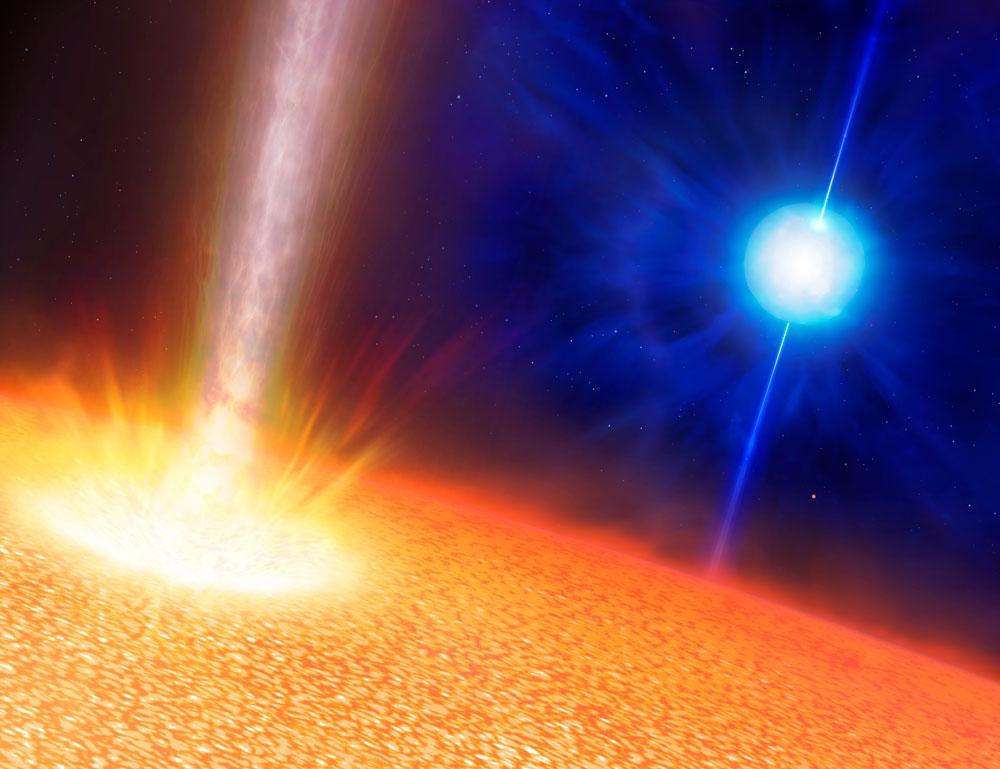 Бинарные системы звезд уничтожают свои планеты