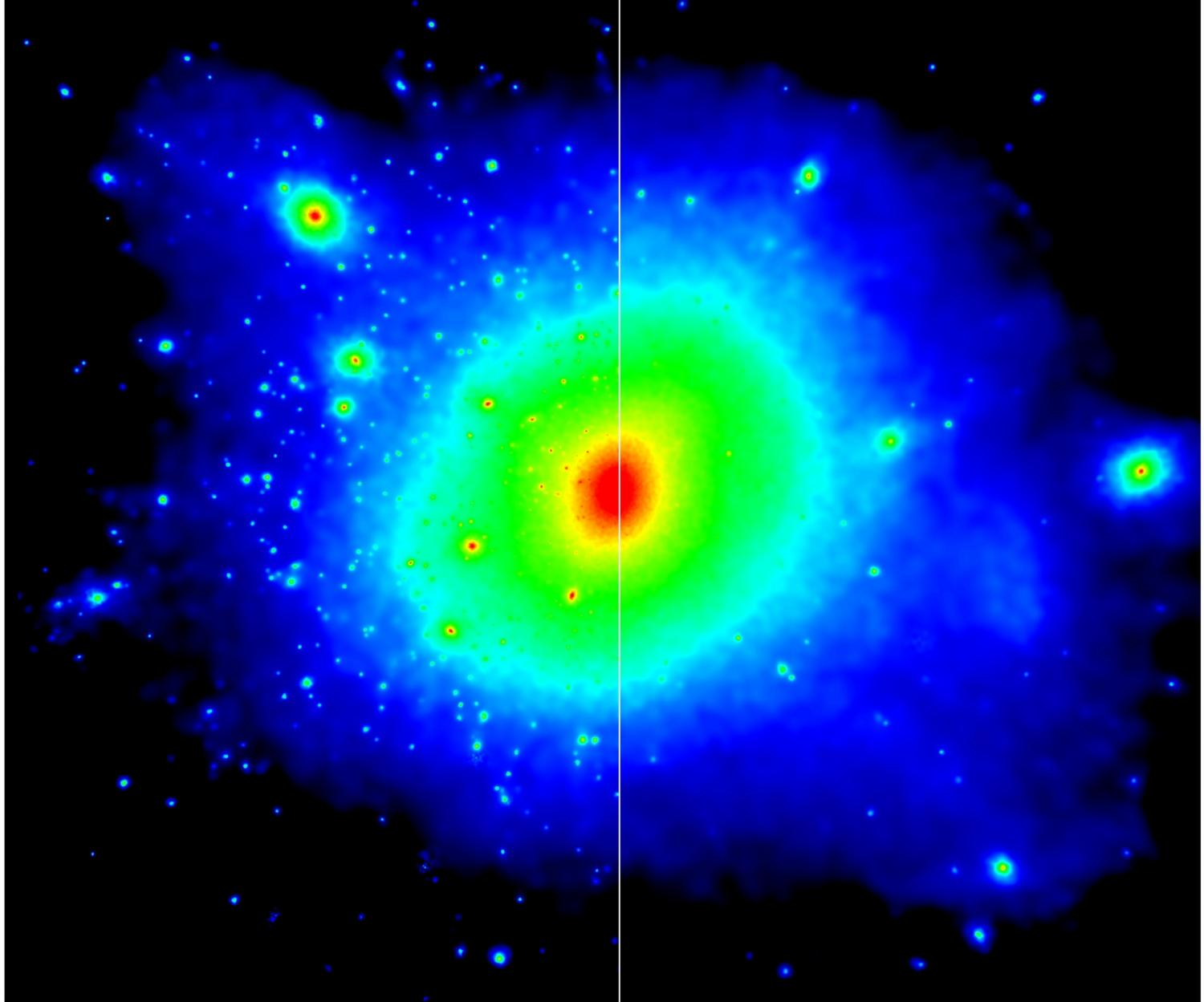Interactive dark matter could explain Milky Way's missing ...