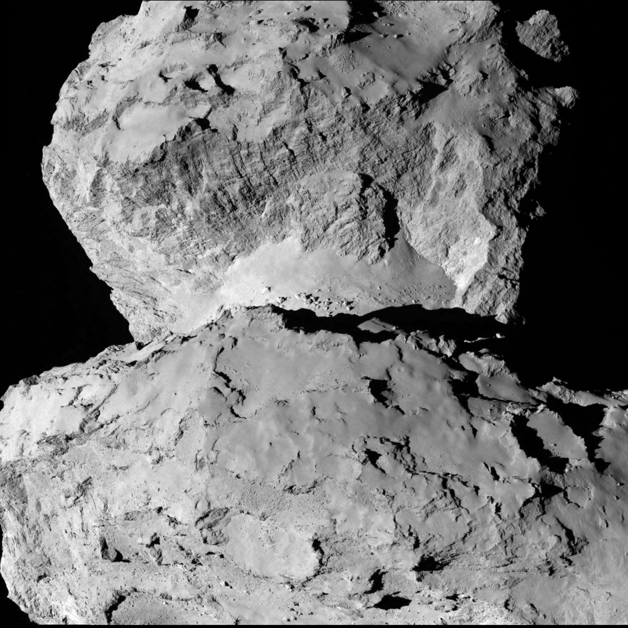 Rosetta Latest Images Image Rosetta Spies Comet