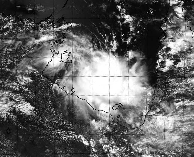 Nasa s aqua satellite captured this visible image of ex tropical