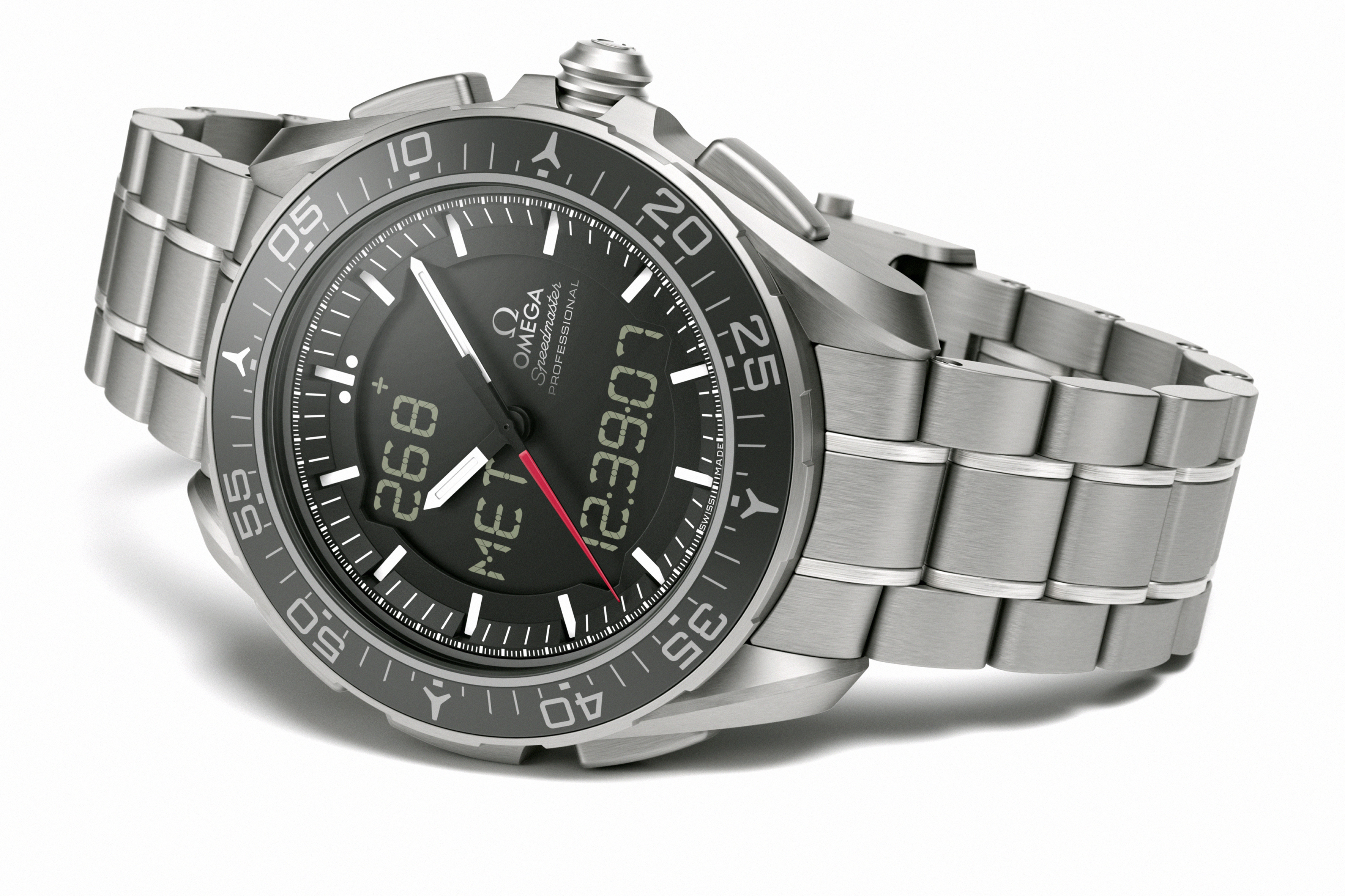 A watch for astronauts by esa and omega for Astronaut watches