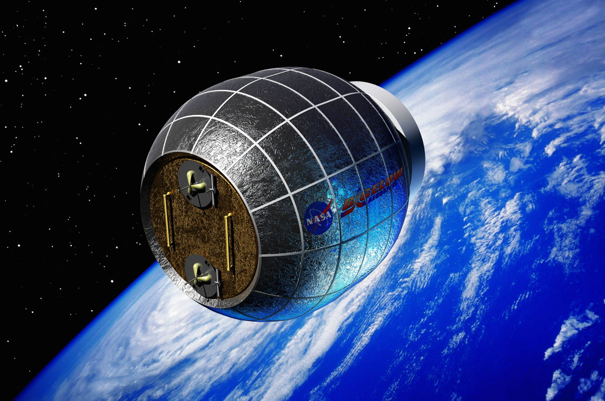 bigelow inflatable module to be added to space station in 2015. Black Bedroom Furniture Sets. Home Design Ideas