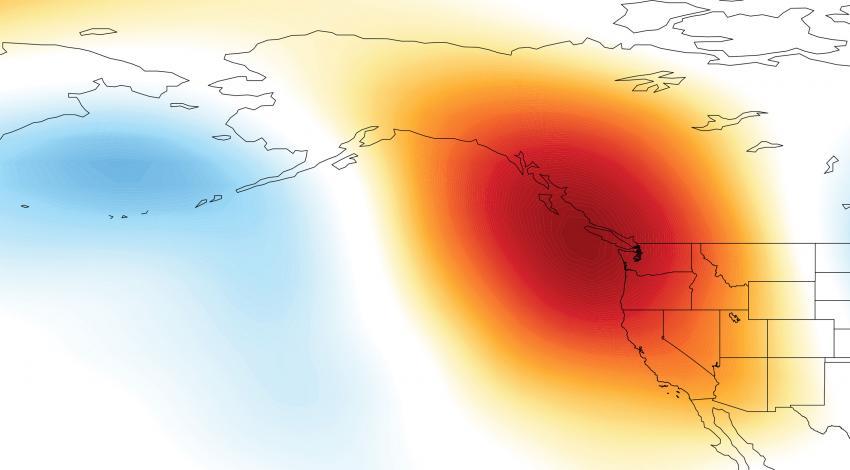 Ridge California Drought Causes of California Drought