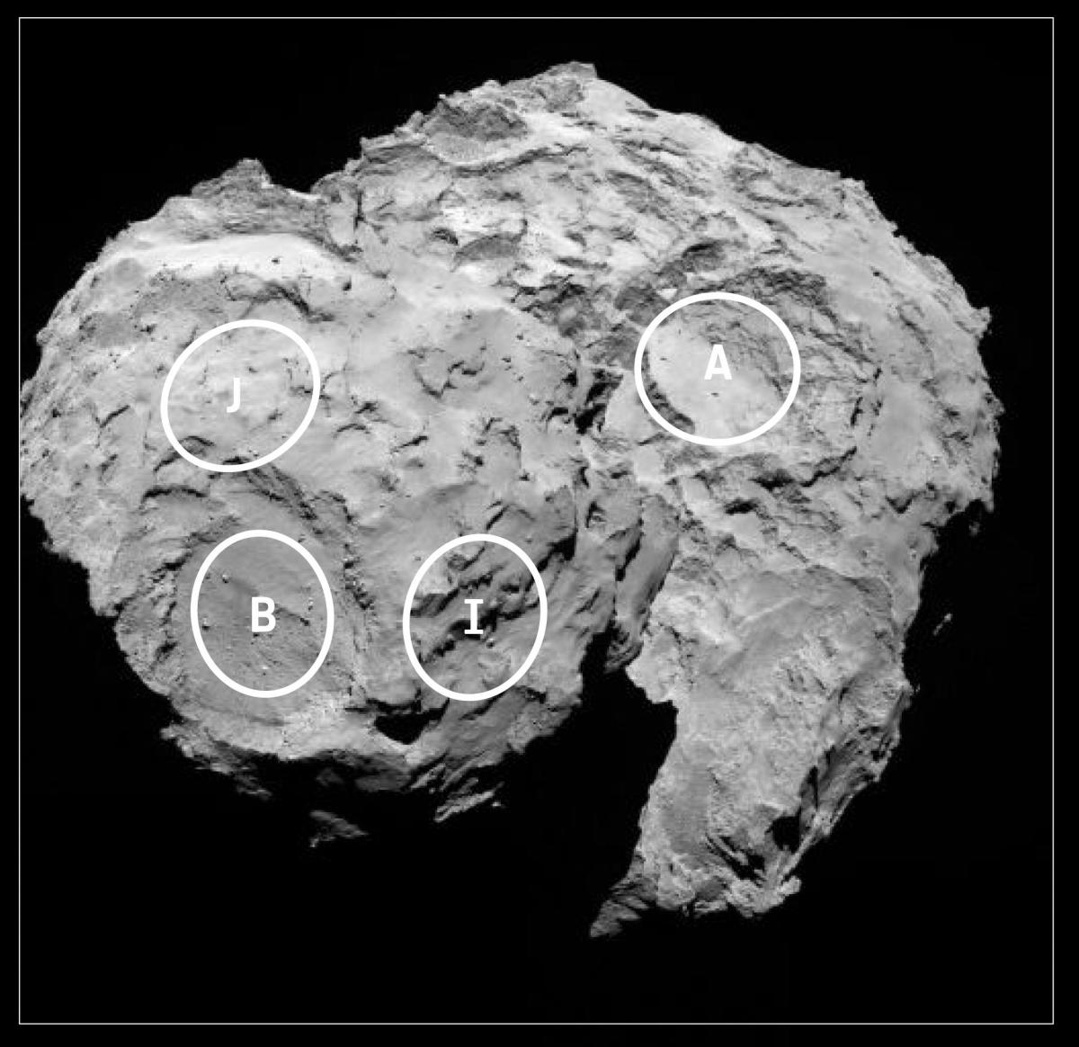 philae rosetta location - photo #37