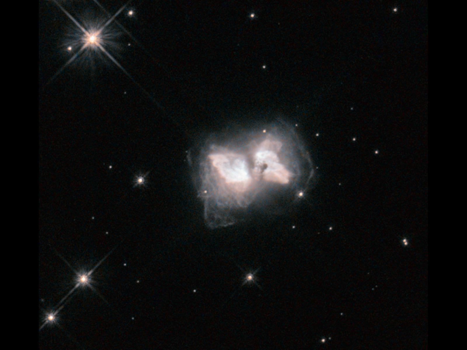 Image: Hubble nets an interstellar butterfly