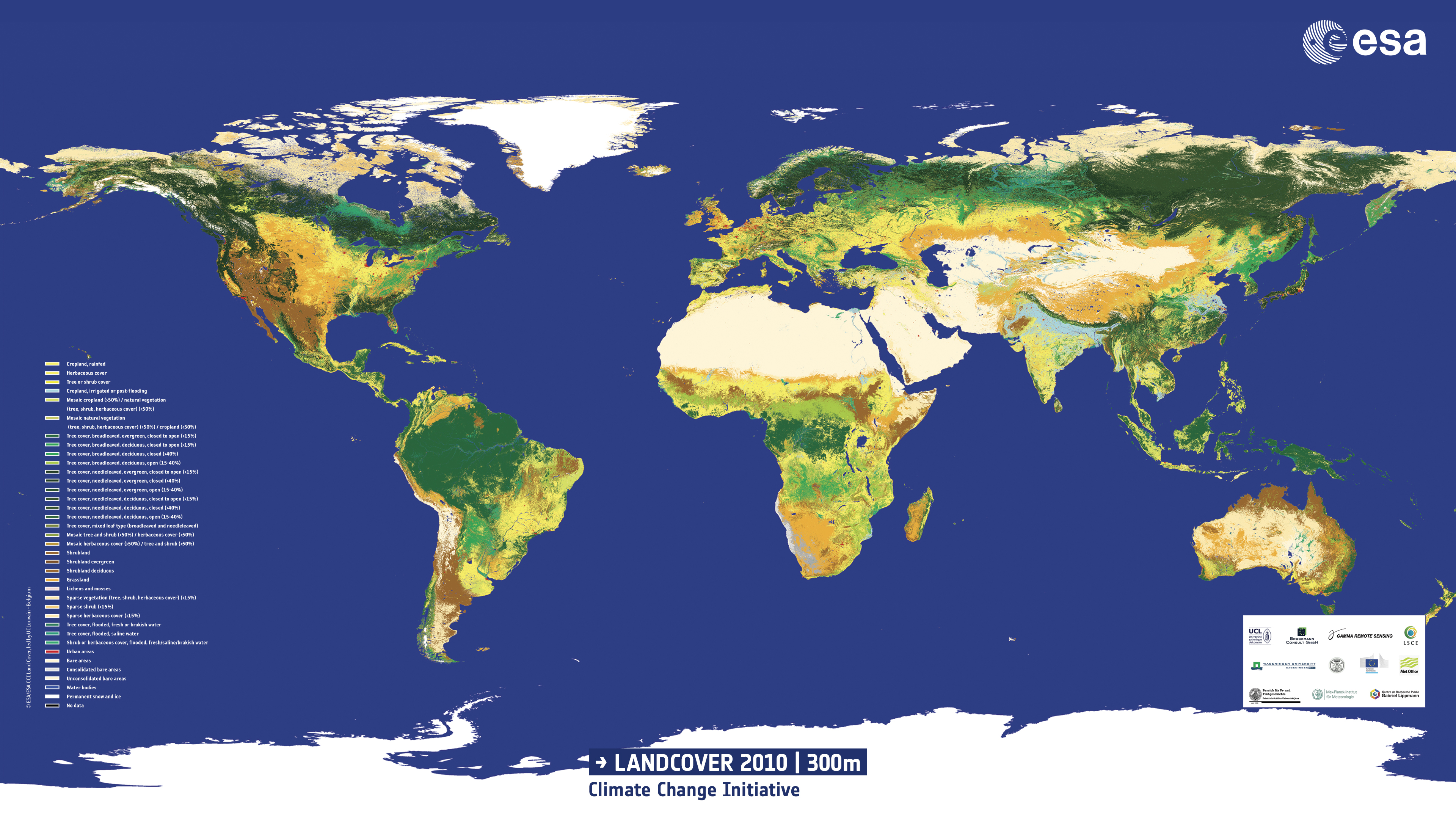 Land Cover and Land use in Environment Statistics