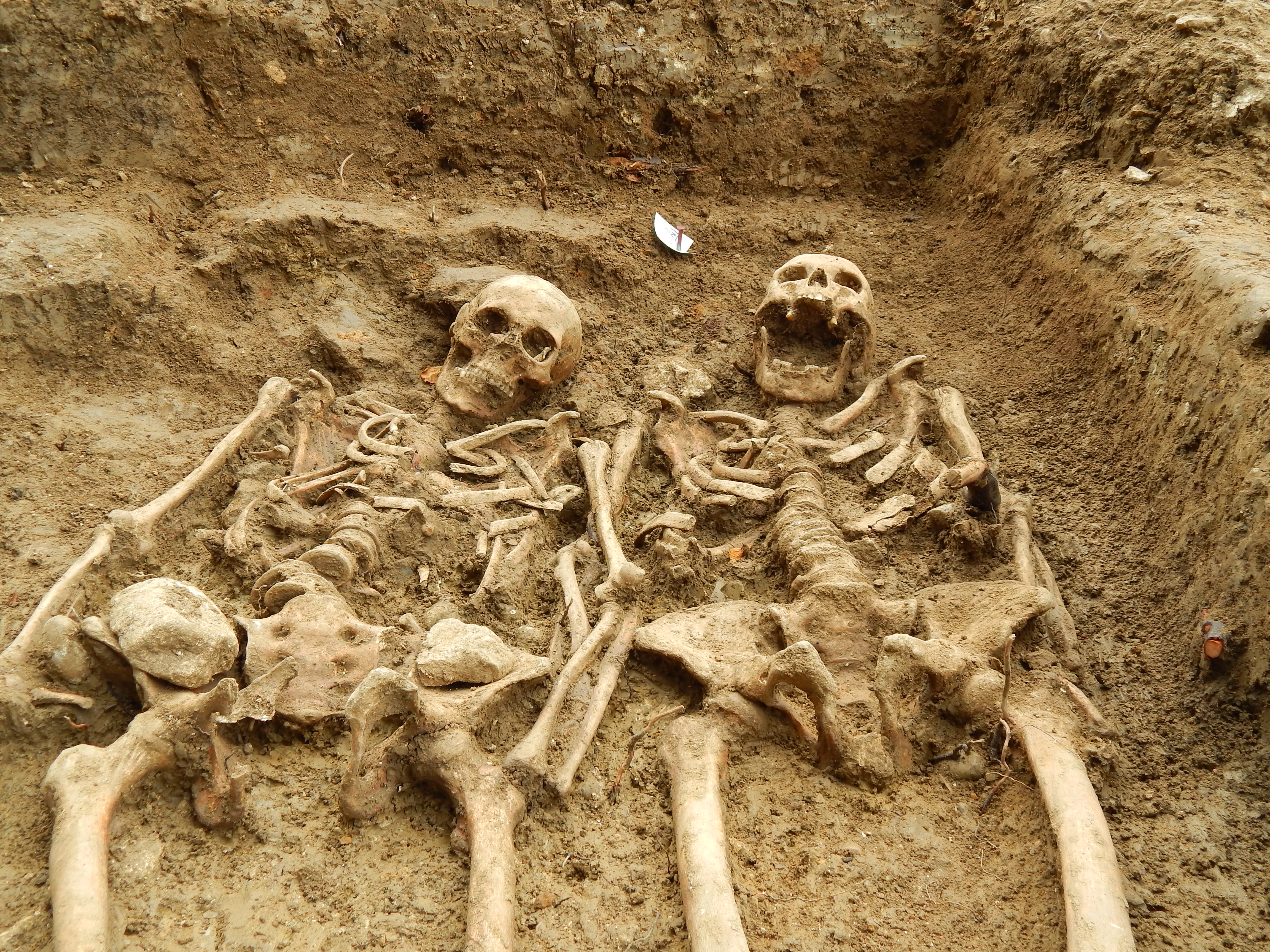 Lost Chapel Skeletons Found Holding Hands After 700