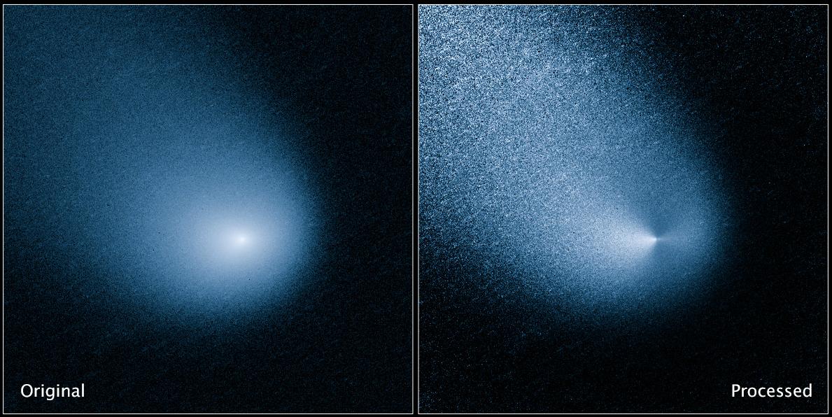 Hubble Space Telescope spots Mars-bound comet sprout ...