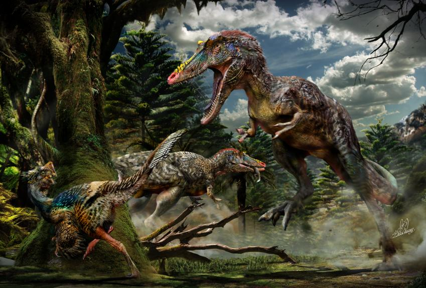 Newly Found Dinosaur Is Long Nosed Cousin Of Tyrannosaurus Rex