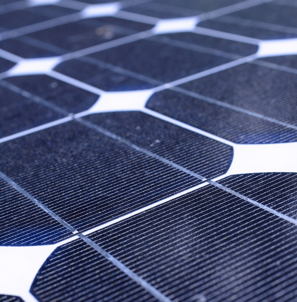 ... solar cell — actually have excess energy that a conventional solar