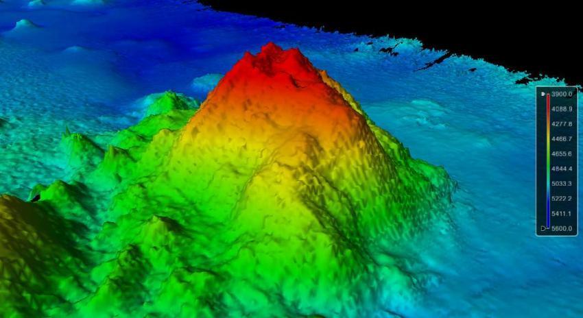 Scientists discover seamount in Pacific ocean Pacific Ocean Underwater Volcanoes