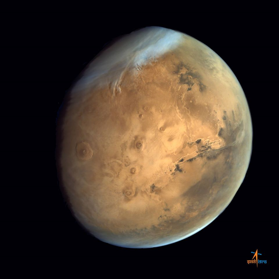 Stunning View Of Solar System S Largest Volcano And Valles