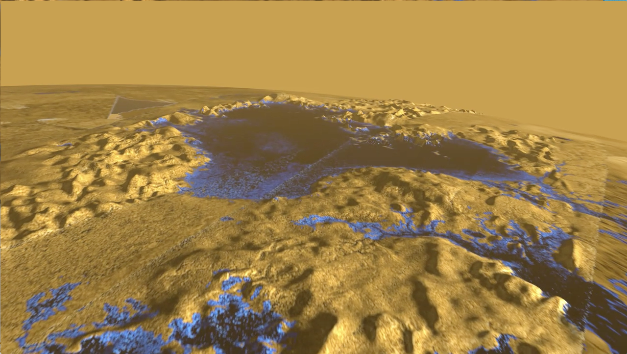 Surface Of Titan Sea Is Mirror Smooth Scientists Find