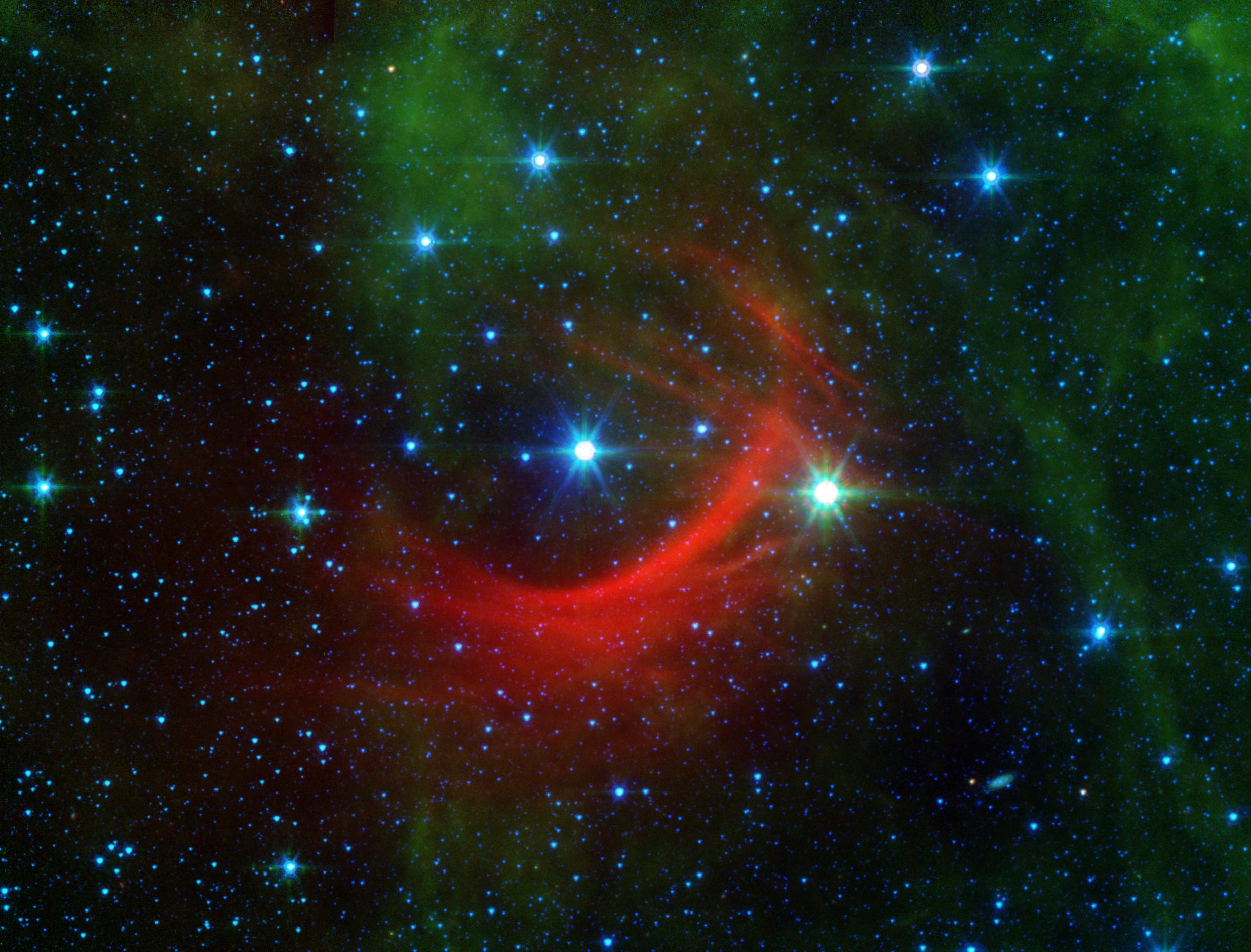 The bow shock of Kappa Cassiopeiae, a massive, hot supergiant