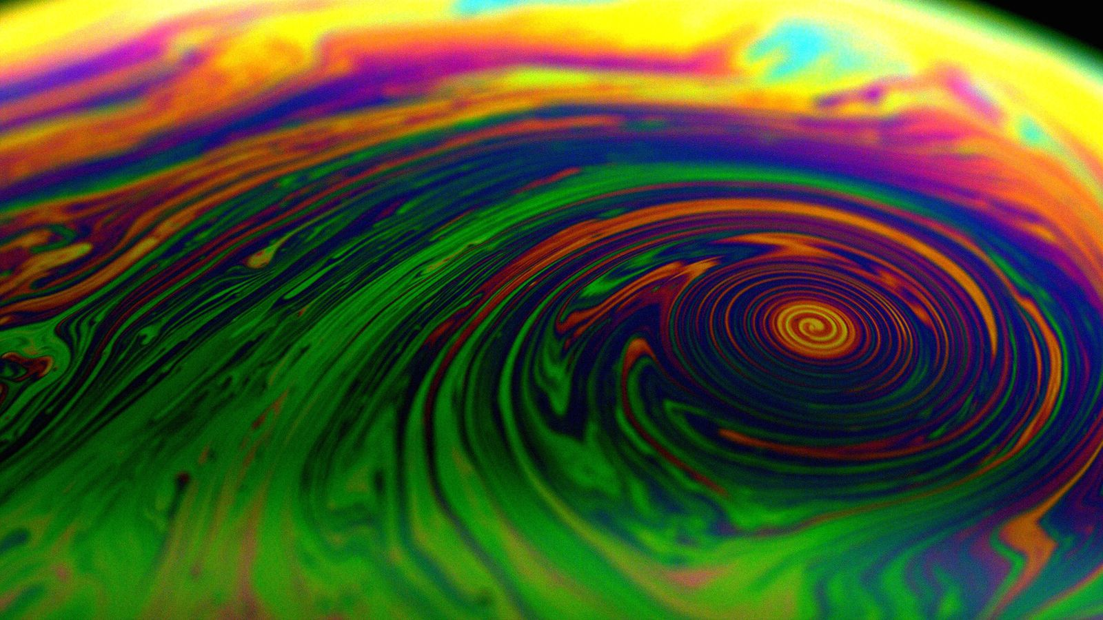 Soap bubbles for predicting cyclone intensity?