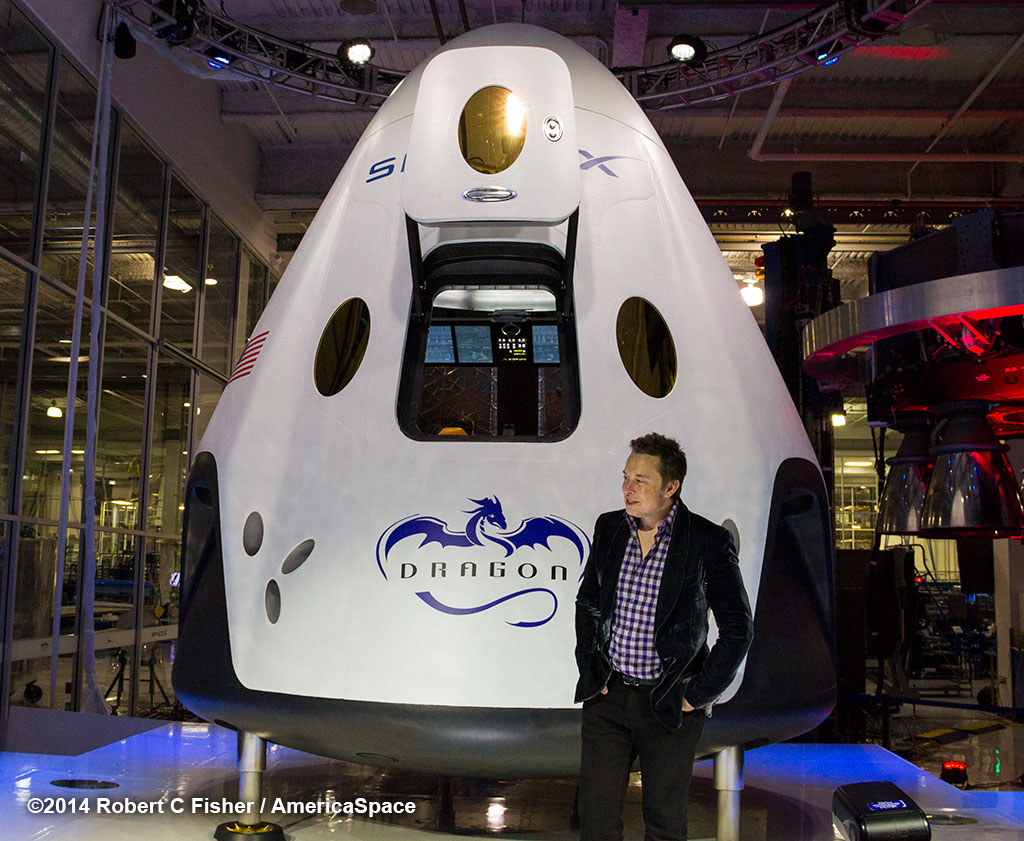 SpaceX Dragon 2 Model - Pics about space