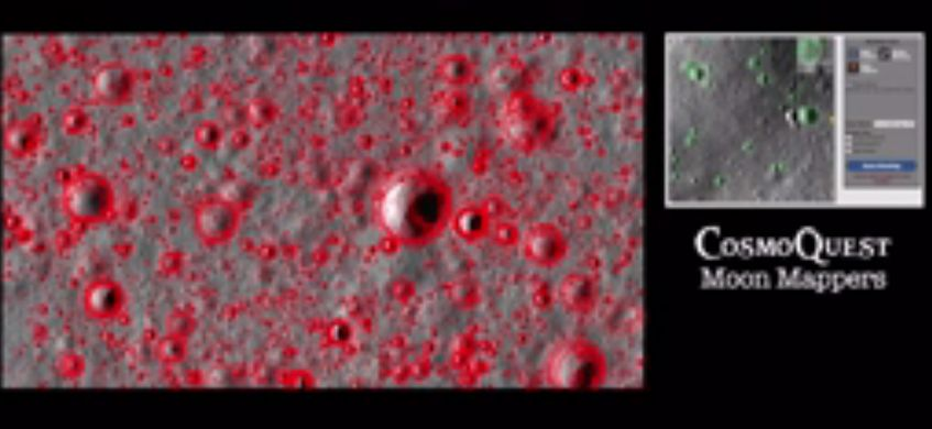 Study on lunar crater counting shows crowdsourcing is accurate tool