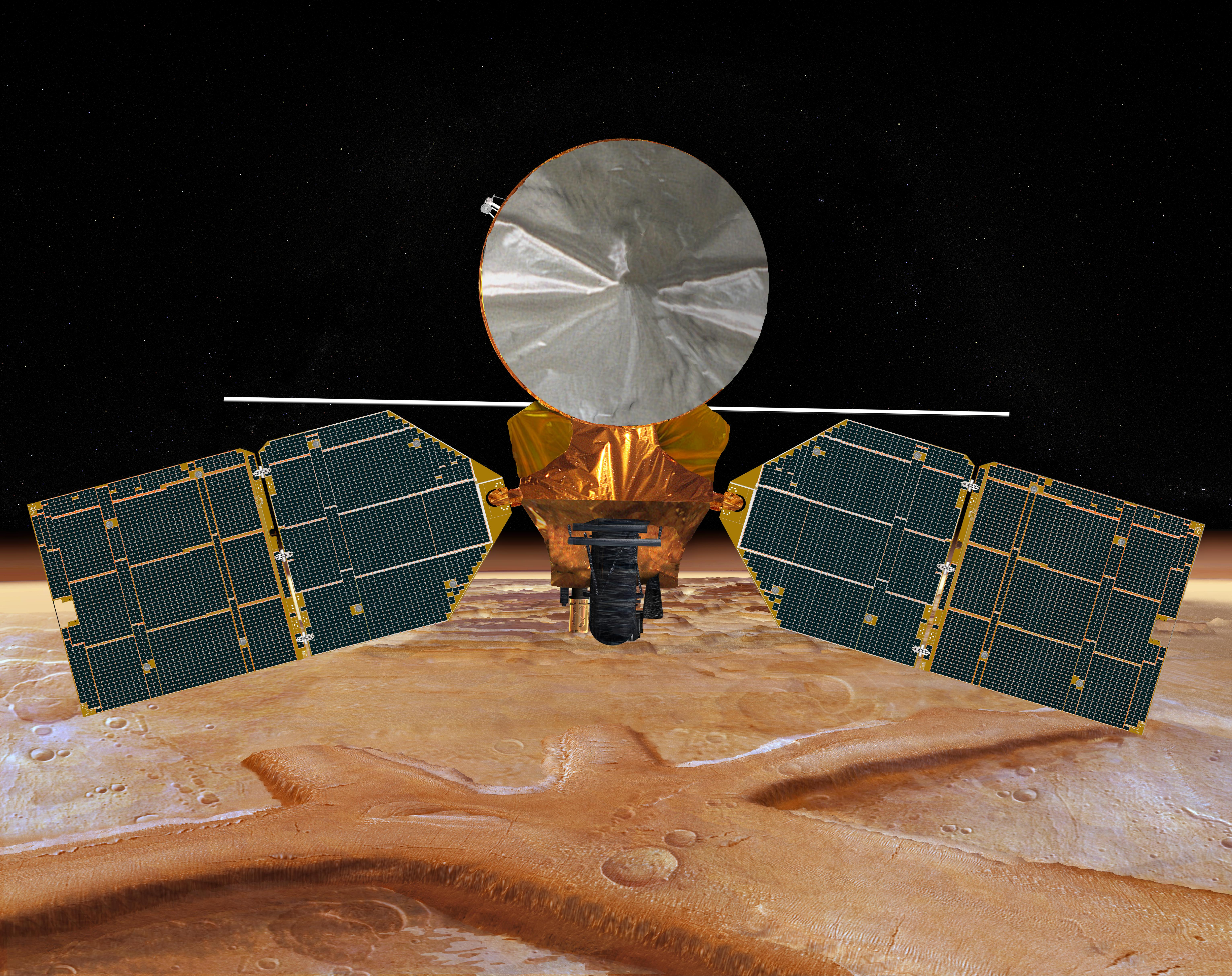 Reconnaissance Satellites on Mars Nasa 39 s Mars Reconnaissance