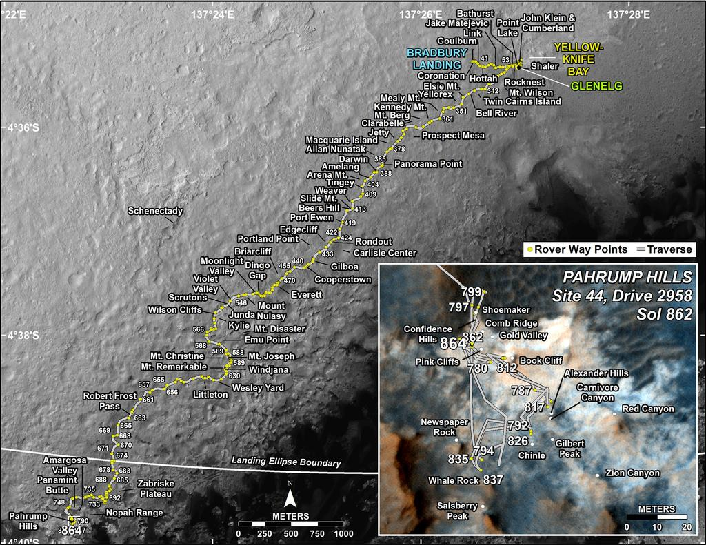 mars rover opportunity current location - photo #39