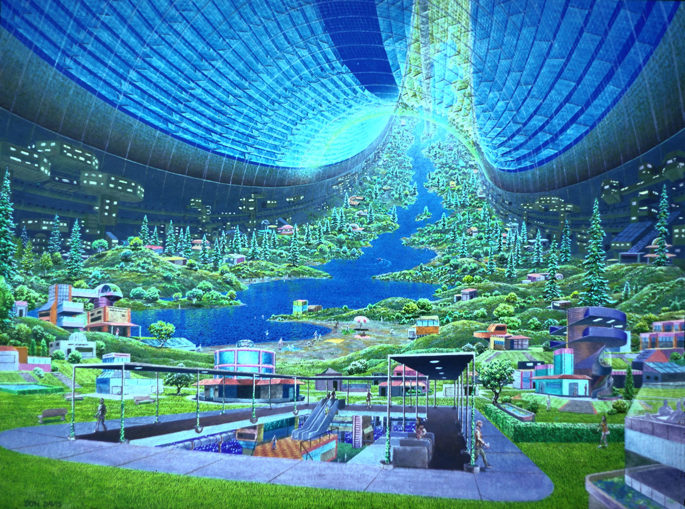 What kind of life form do you think would exist in another planet in the year 2100?