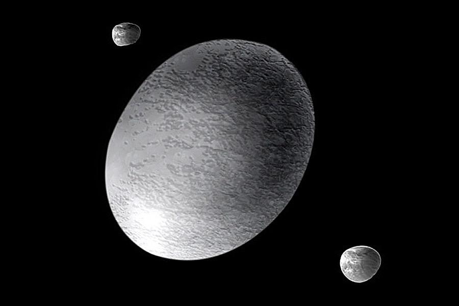 dwarf planets haumea -#main