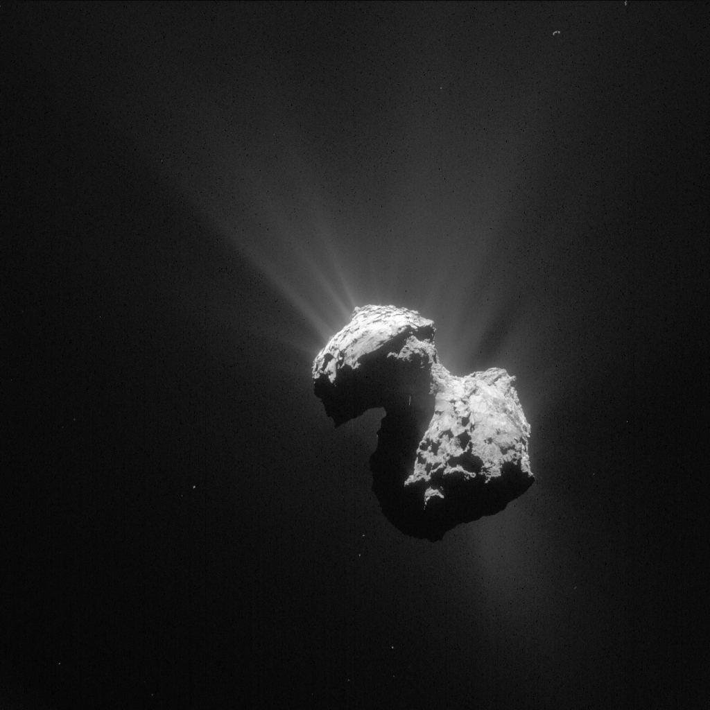 Rosetta finds molecular oxygen on comet 67P (Update)