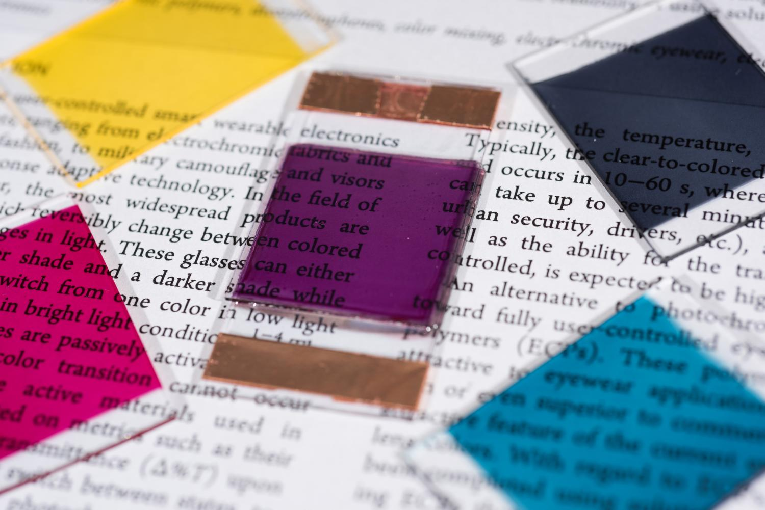 Electrochromic polymers create broad color palette for ...