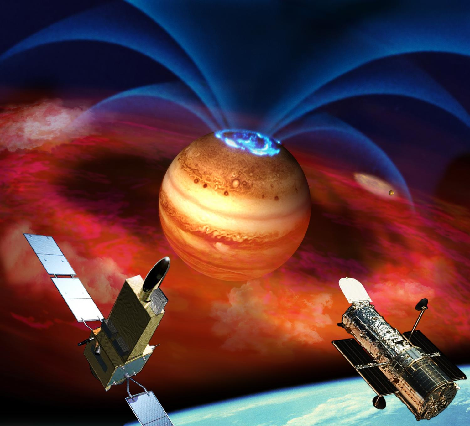 ... OF JUPITER'S AURORA LINKED TO EXTRAORDINARY PLANET-MOON INTERACTION