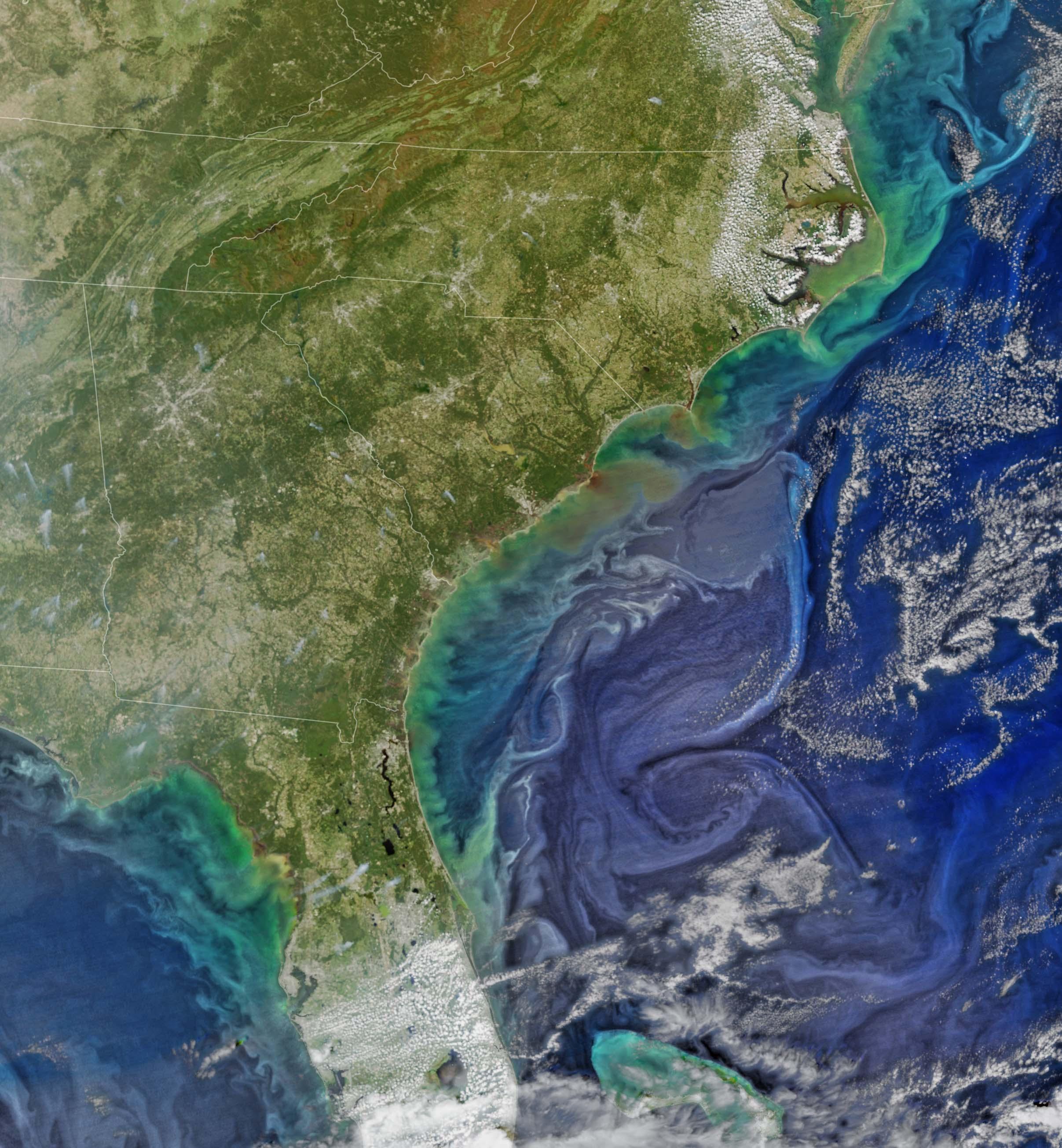 nasa ocean color - photo #31