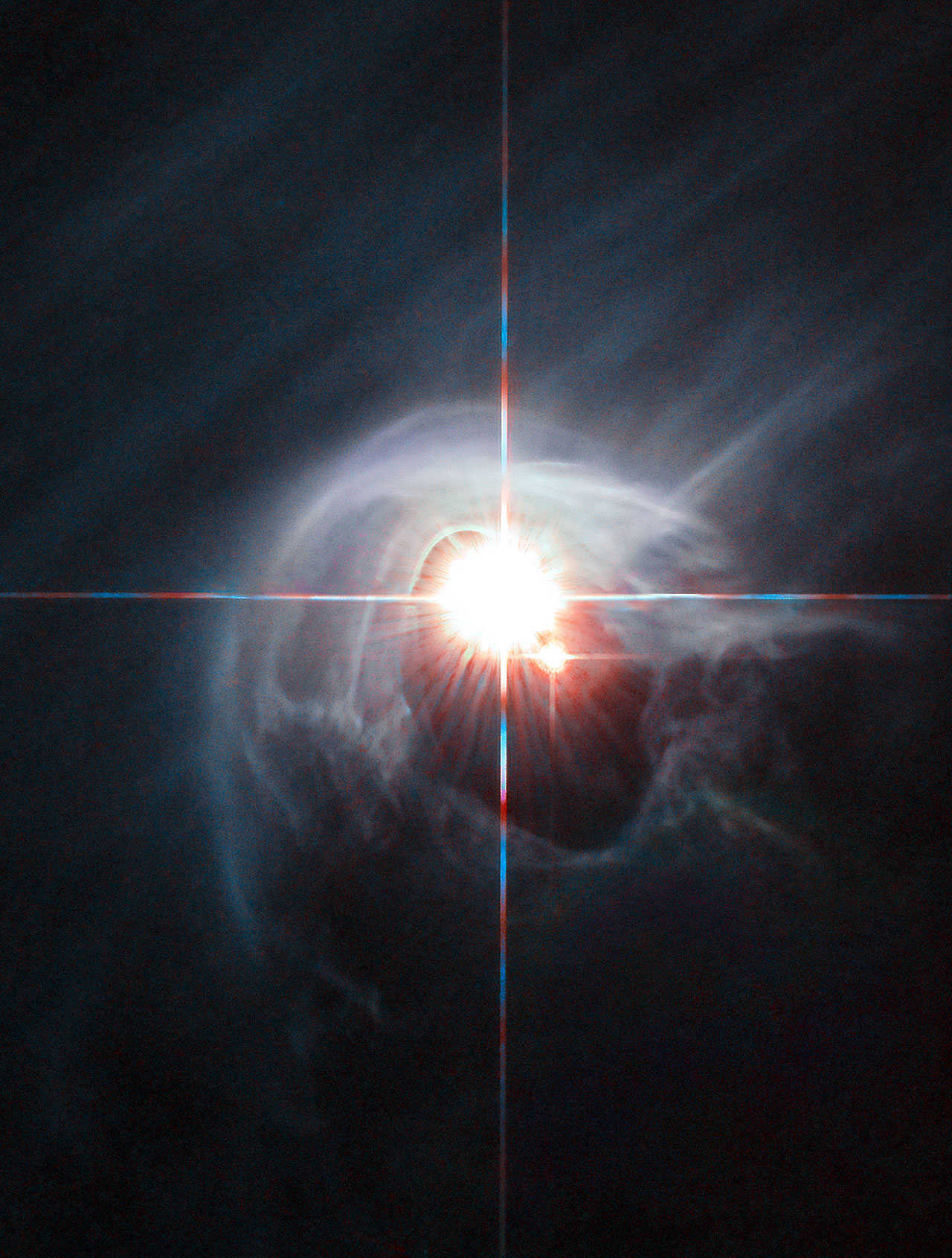Image: Hubble captures DI Cha star system