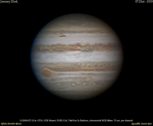 6 февраля своего противостояния достиг Юпитер